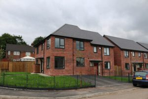 New RBH homes at Longridge Drive in Heywood